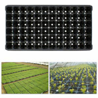 5Pcs 72-cell Seedling Starter Seed Planting Insert Plug Tray Plant Growing Black