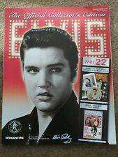 Elvis Presley The Official Collector's Edition magazine Part 22 artefacts more