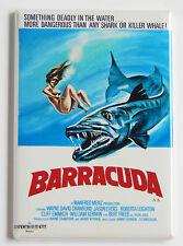 Barracuda FRIDGE MAGNET (2.5 x 3.5 inches) movie poster