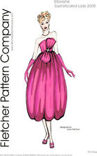 Sophisticated Lady Doll Clothes Sewing Pattern Ellowyne Fletcher Tonner