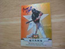Byron Buxton Auto Autographed 2012 Leaf Valiant Stars Orange Prismatic 27/50!!!