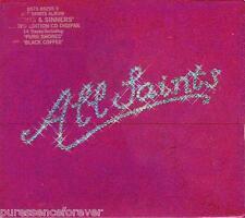 ALL SAINTS - Saints & Sinners (UK Ltd Ed 14 Tk CD Album/Digipak & Slipcase)
