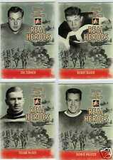 JOE TURNER 09/10 ITG H&P PROSPECTS REAL HEROES #RH-12 Hockey Card Insert