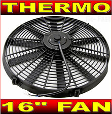 "16"" 16 INCH RADIATOR FAN THERMO FAN ELECTRIC COOLING FAN 40cm with MOUNTING KIT"