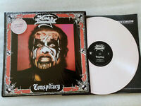 KING DIAMOND conspiracy...VINYL WHITE RED MARBLED.LIMITED TO 500 COPIES WORLDWID