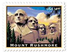 2008 $4.80 American Mount Rushmore, Priority Mail Scott 4268 Mint F/VF NH