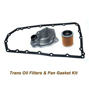 3PCS JF010E Transmission Oil Filters & Pan Gasket For Nissan Altima 5191890AA