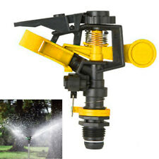 Garden Lawn Plant Watering Plastic Impact Sprinkler Irrigation Tool Adjustable