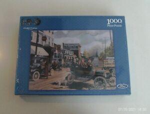 Ford Motor Company Main Street 100 Years 1000 Piece Jigsaw Puzzle  BRAND NEW