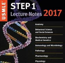 USMLE Step 1 Lecture Notes 2017: 7-Book Set in 1 + Step 2 Notes for FREE