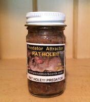 RAT HOLE!!! Predator Attractor Mice Meat Trap Bait/Lure Coyote, Fox, Bobcat,