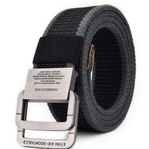Cinturón De Jeans Moda Casual 2021 Para Hombre Correa De Nailon Con Hebilla Lujo