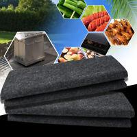 Non-Stick BBQ Grill Mat Barbecue Grill Splatter Mat Liners Fireproof Heat Resist