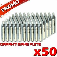 LOT 50 SPARCLETTES SPARCLETTE GAZ CO2 CAPSULE CARTOUCHES AIRSOFT PAINTBALL NEUF