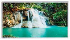 130W Fern Infrarotheizung Wasserfall Bild Elektroheizung Überhitzungsschutz TÜV