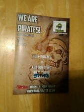 2018/19 Hull Pirates V Sutton Sting - National Ice Hockey League