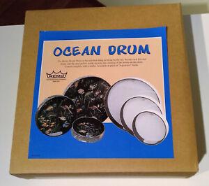 Remo Ocean Drum 30cm, White Finish