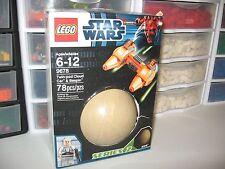 """LEGO STAR WARS    """" TWIN-POD CLOUD CAR & BESPIN """"  # 9678   NEW BOX"""