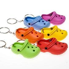12 CROCS KEYCHAINS croc shoe clog sandal key chains footwear charm REALLY CUTE