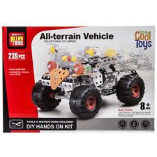 239pc Metal Alloy All-Terrain Building Set Kids Educational Construction Toy Kit