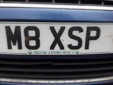 Private number plate M8X SP