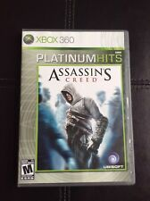 Assassin's Creed Xbox 360 Platinum Hits PERFECT DISC Complete CIB FastShip World