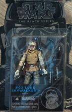 "Star Wars The Black Series Blue Line 3.75"" #02 Luke Skywalker Hoth Wampa"