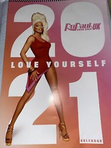 Rupaul's Drag Race UK Season 2 2021 Calendar
