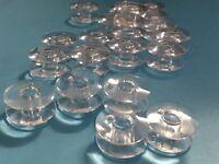 15 Nähmaschinen Spulen für Singer Nähmaschinen NEU Spulen Kunststoff TOP