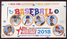 2018 TOPPS HERITAGE HOBBY BASEBALL BOX - BUY 2 OR MORE SAVE $5
