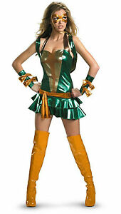 Sassy Teenage Mutant Ninja Turtles Michelangelo Costume Size Large 12-14