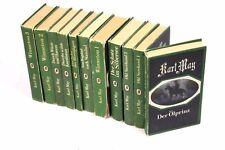 11 Bd. Karl May Western Sammlung Verlag Neues Leben Berlin 1980er Hardcover grün