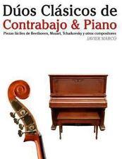 Dúos Clásicos de Contrabajo and Piano : Piezas Fáciles de Beethoven, Mozart,...