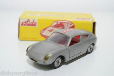 SOLIDO SERIE 100 124 ABARTH 1000 METALLIC GREY EXCELLENT BOXED