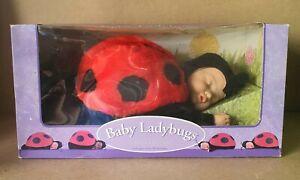 Anne Geddes Vintage 1998  Baby Ladybug 12 inch / 30 cm Doll