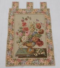 Vintage Beautiful Flowers Tapestry Wall Hanging 43x58cm T810
