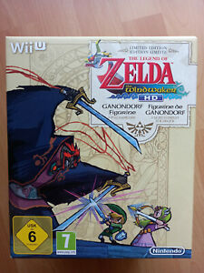 Nintendo Wii U Zelda Windwaker limited Edition eingeschweißt OVP