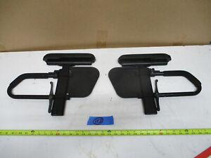 Quickie Single Post Armrest for Manual Wheel Armrest set of 2