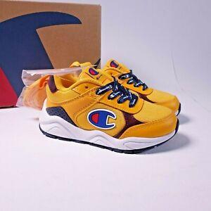 Champion Toddler Kid's 93Eighteen Block Sneakers CKS10003T Yellow