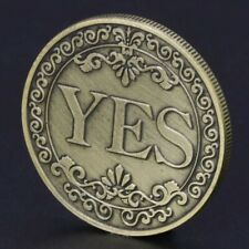 Münze Entscheidung treffen Ja Nein Orakel Glücksbringer Entscheidungsmünze Glück