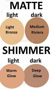 Avon True Glow Bronzing Powder Arabian Deep Glow Medium Riviera Light Bronze