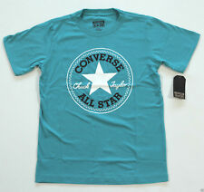 Neu All Star Converse T-Shirt TShirt Shirt Kids Kinder Jungen Boy türkis