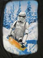 Stormtrooper shirt mens large sled new winter star wars new black tee C8