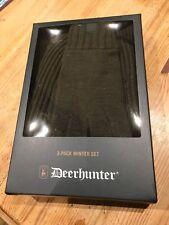 Deerhunter 3 Pack Winter Box Set Hat Scarf & Gloves Make Lovely Xmas Present