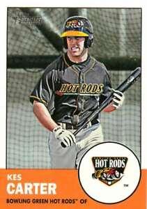 2012 Topps Heritage Minor League #177 Kes Carter NM-MT