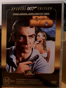 DR. NO DVD - AS NEW CONDITION - ONLY WATCHED ONCE - THE 1ST 007 BOND MOVIE