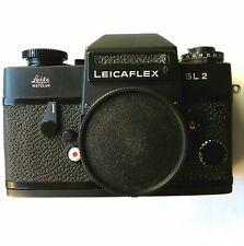 Leitz Leicaflex SL2 black 35mm film camera