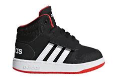 adidas Core Kleinkinder Kinder Freizeit und Sport Schuhe Hoops MID 2.0 I schwarz