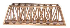 BR006 Single Track Long Girder Rail Bridge OO Gauge Model Laser Cut Kit