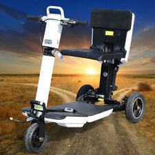 New listing 48V 3-Wheel Folding Electric Scooter 3 Speed Mode Mobility Scooter+Led Headlight